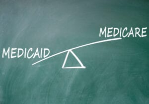 a select group is dual-eligible, qualifying for Medicare and Medicaid